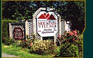 Mountain Village Entrance Sign (8 k)